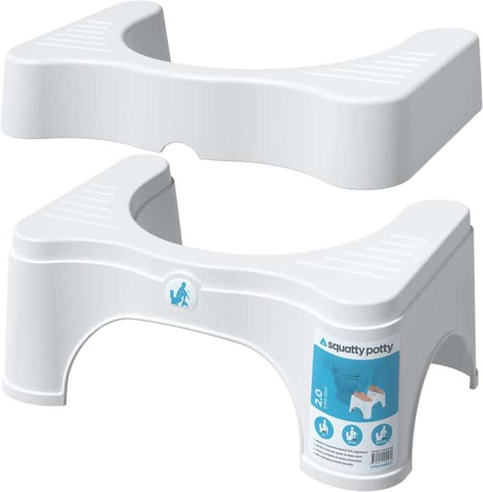 #4. Sqatty Potty Original Stool for Adults and Kids