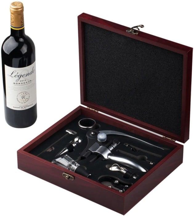 #5. Cooko Wine Opener with Soft Handles