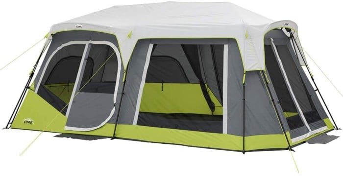 #5. Core Instant Cabin Tent with Side Entrance
