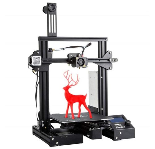 5. Creality Ender 3D Printer with UL Certified Power Supple and Magnetic Build Surface Plate