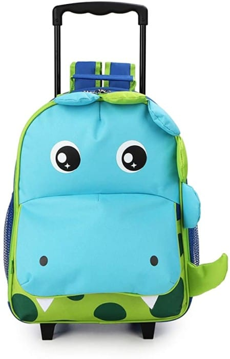 #5. Yodo 3-way Rolling Backpack for kids