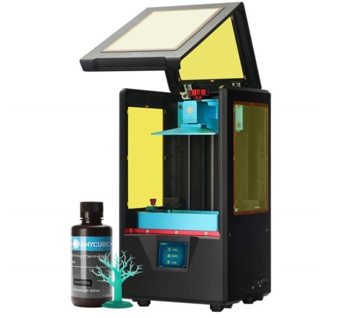 6. ANYCUBIC 3D Printer with UV LCD Resin Printer Dual Z-axis Linear Rail