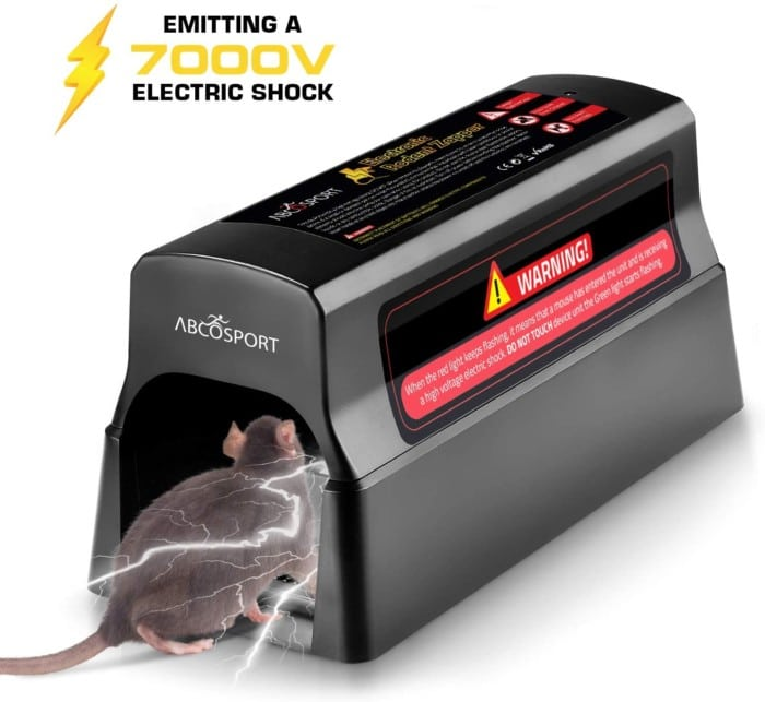# 6. AbcoSport Electronic Rat Trap Zapper