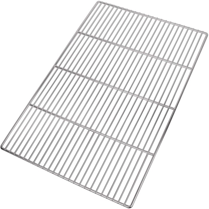 #6. LANEJOY Campfire Grill Grates with Wire Mesh