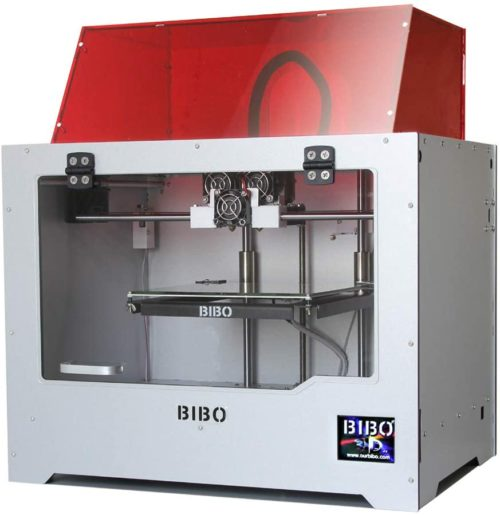 7. BIBO 3D Printer Wifi Touch Screen Dual Extruder Laser Engraving Sturdy