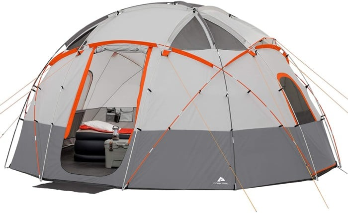 #7. OZARK 12-person Tent with Light