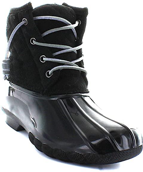 #8. Seven7 Slip-resistant Women Boot Duck Booties