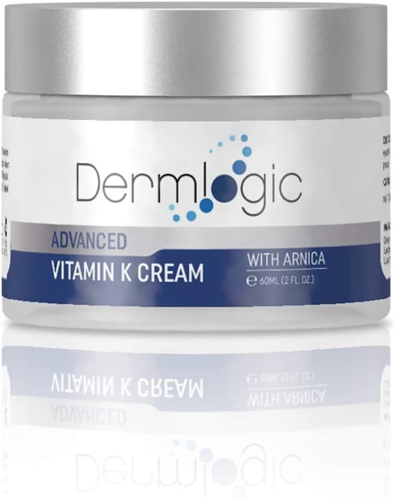 #8. Dermlogic Vitamin K Cream with Hyaluronic Acid
