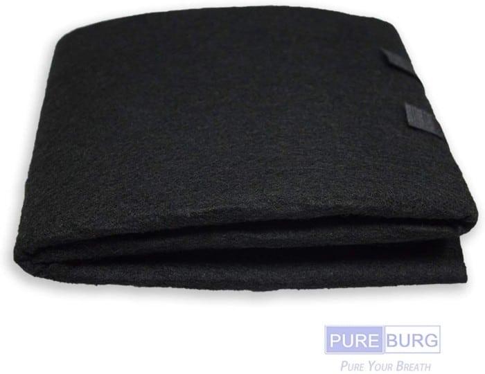 #8. PUREBURG charcoal air filter