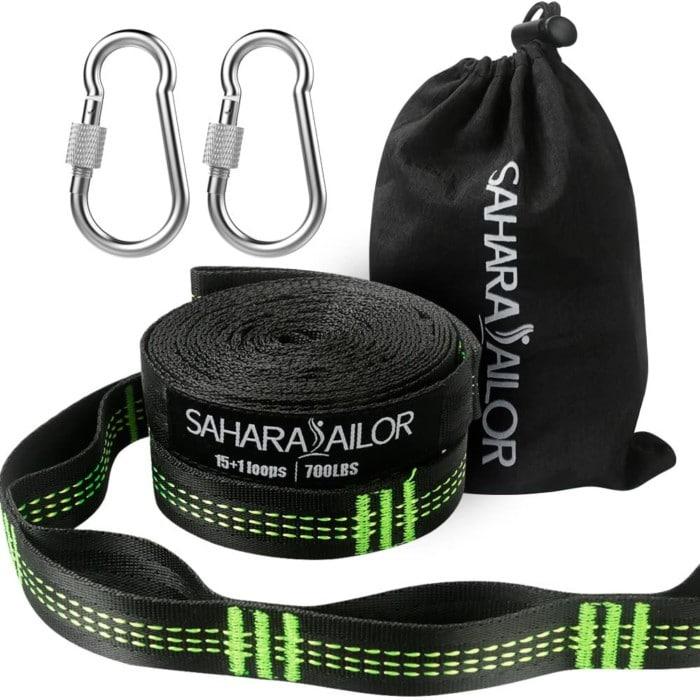 #8. Sahara Sailor Extra Large Hammock Straps