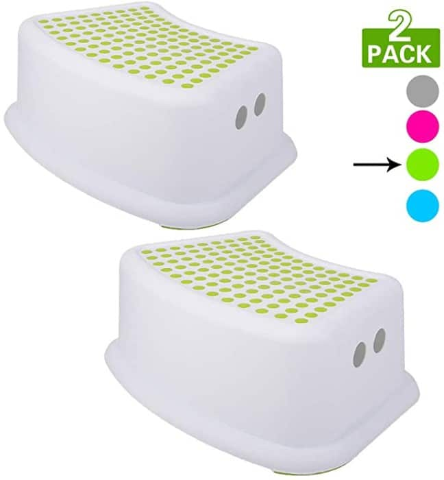 #8. Tiawudi Kids Toilet Step Stool with Rubber Floor Grips