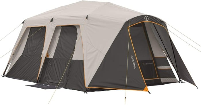 #9. Bushnell Water-resistant 12-person Tent with Heat Shield