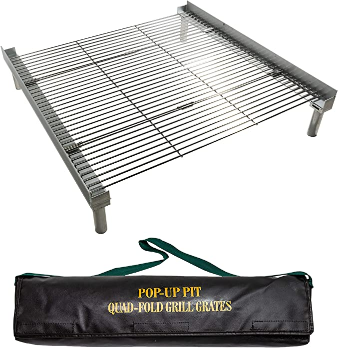 #9. Campfire Defender Protect Preserve Stainless Steel Campfire Grill Grates