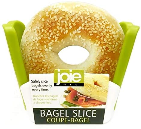 #9. Joie Bagel Slicer 2-Pack