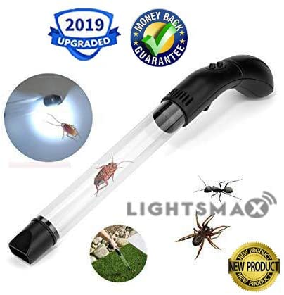 #9. LIGHTSMAX Bug Vacuum Pest Control