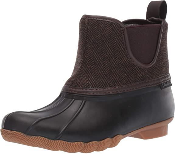 #9. Skechers Chelsea Non-slippery Women Duck Boots