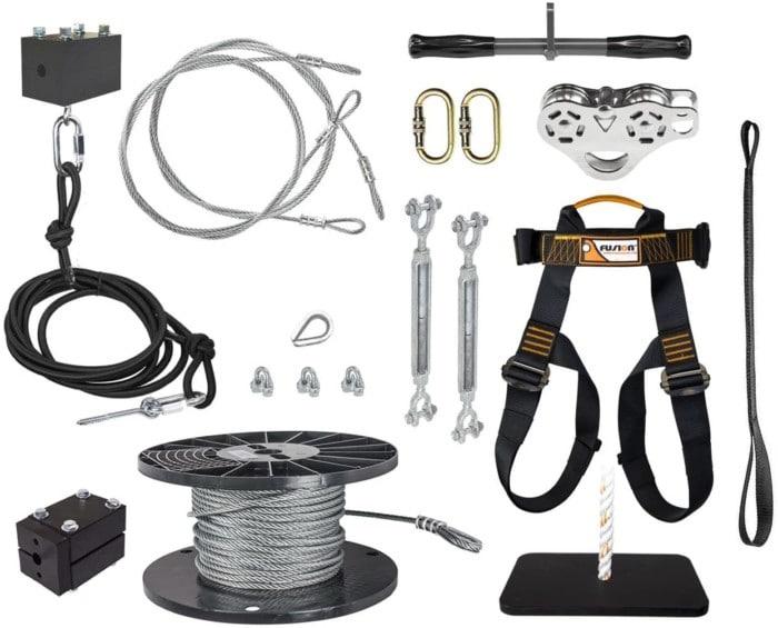 #9. ZLP Manufacturing Zip Line Kits