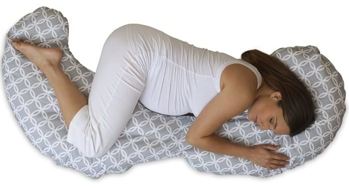 Boppy Slipcovered Total Body Pregnancy Pillow