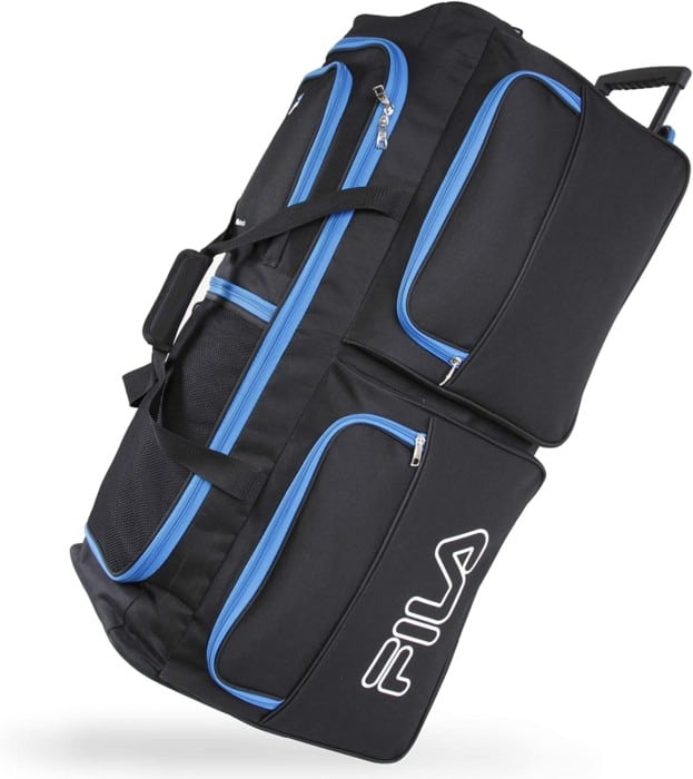 Fila 7-Pocket Large Rolling Duffel Bag