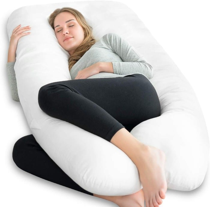 NiDream Bedding Premium Pregnancy Pillow U Shaped, Pregnancy Body Pillow, Maternity Pillow for Side Sleeping