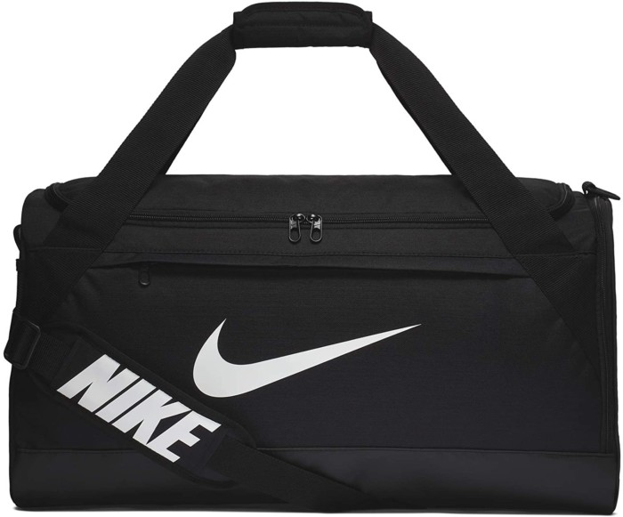 Nike Brasilia Training Duffel Bag, Versatile Bag with Padded Strap and Mesh Exterior Pocket