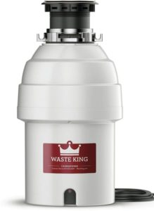 Waste King Legend Series 1 HP Continuous Feed Garbage Disposal with Power Cord
