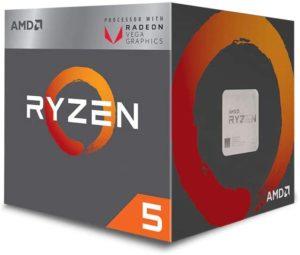 AMD Ryzen 5 3400G Unlocked Desktop Processor