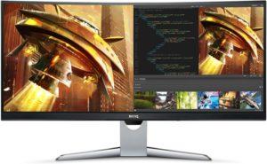 BenQ Ultrawide Curved QHD Monitor