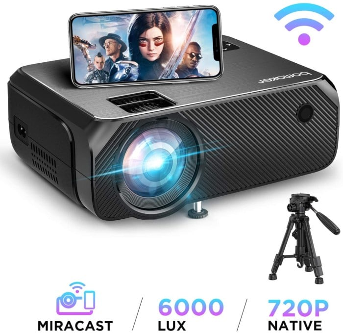 Bomaker Wireless WIFI Projector