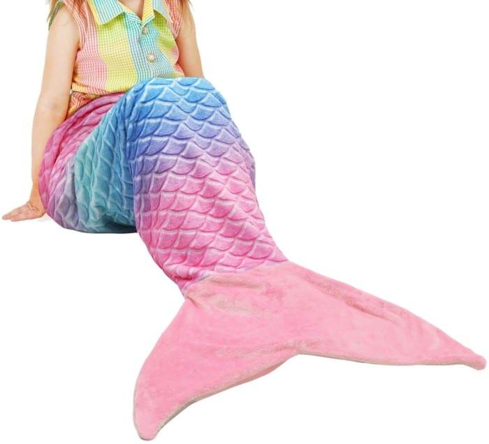 Catalonia Mermaid Blanket