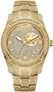 JBW Luxury Men's Jet Setter Diamond Wrist Watch