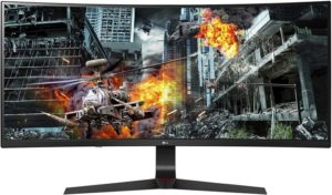 LG Ultragear Curved Wfhd Gaming Monitor