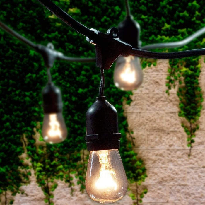 Lemontec Commercial Outdoor String Lights