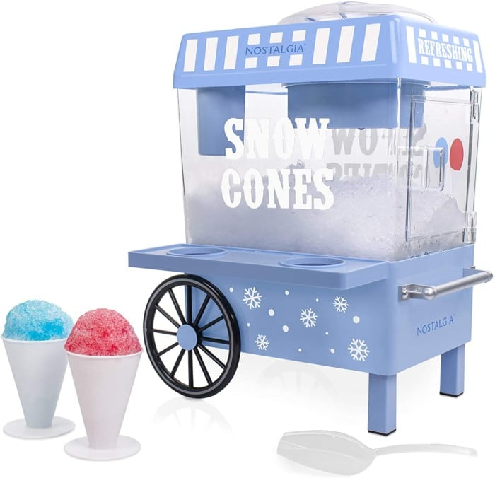 Nostalgia SCM525BL Vintage Countertop Snow Cone Maker