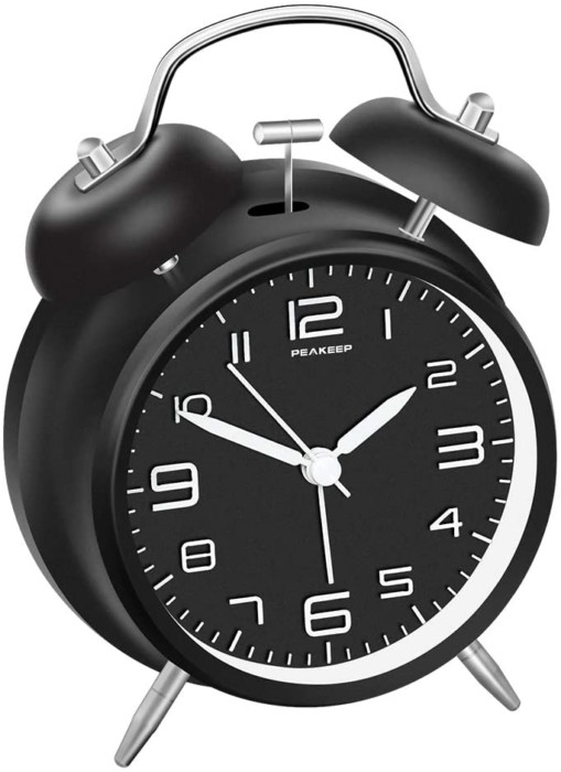"""Peakeep 4"""" Alarm Clock"""