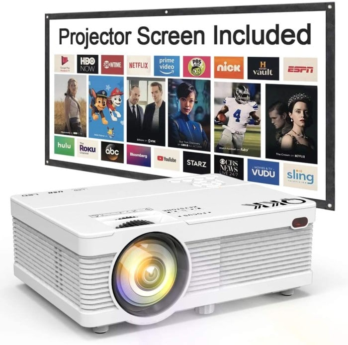 QKK Mini Projector (2019 Updated)