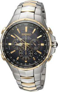 Seiko Men's OUTURA Japanese Quartz Two Tone Watch