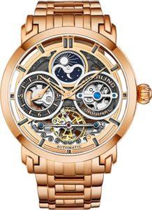 Stührling Men's Stainless Steel Automatic Watch
