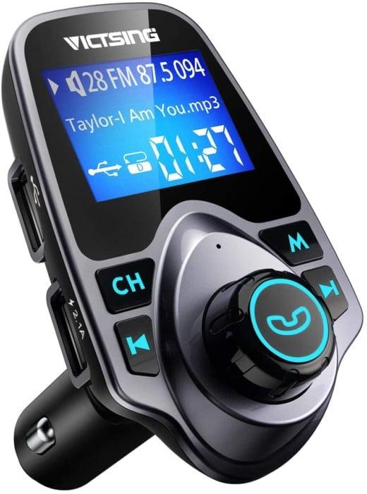 VicTsing Bluetooth FM