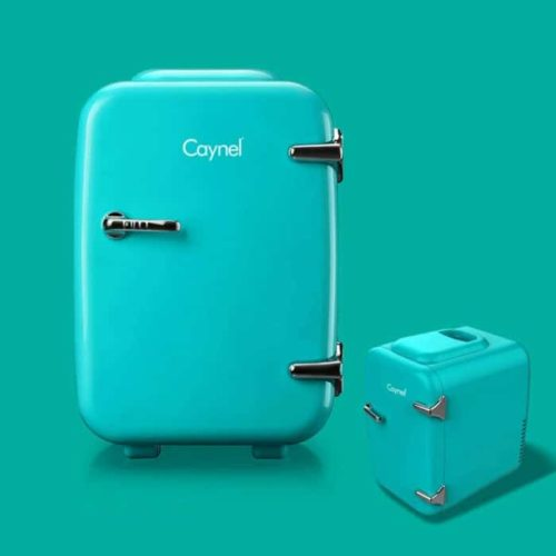 07. CAYNEL Portable Mini Fridge with Eco-Friendly Thermoelectric System - Mini Cooler and Warmer