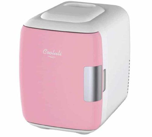1. Cooluli Portable Mini Fridge with Thermoelectric - Pink Mini Fridge