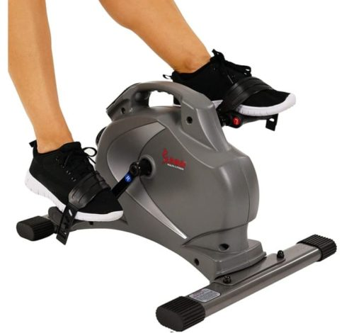 1. Sunny Health & Fitness Exercise Peddler with Magnetic and Display Monitor - Best for Pedal Exerciser