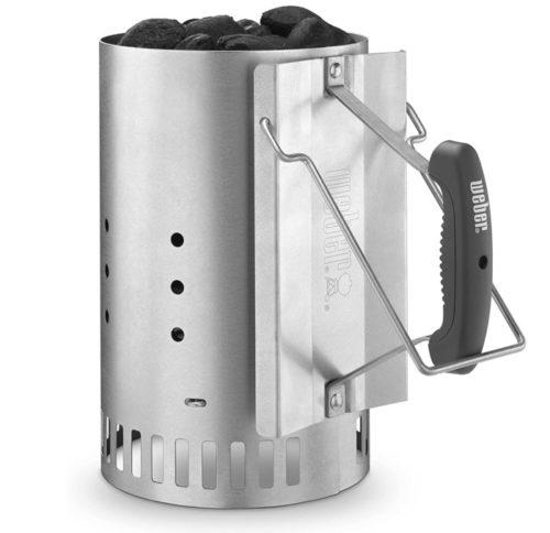 Weber Chimney Starter Rapid Fire - Weber Charcoal Starter