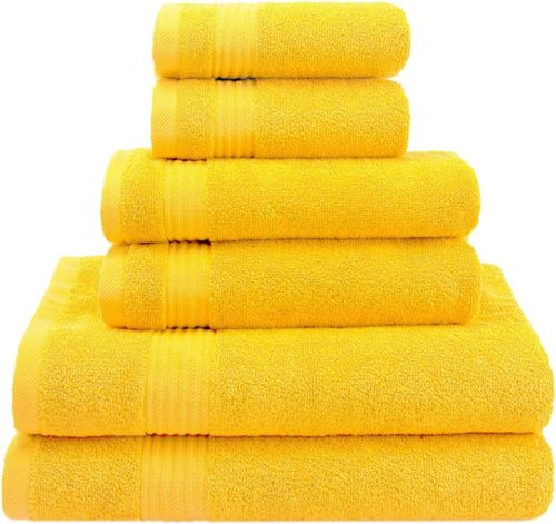 11. American Veteran Best Bath towels Sets with Super Absorbent and Soft