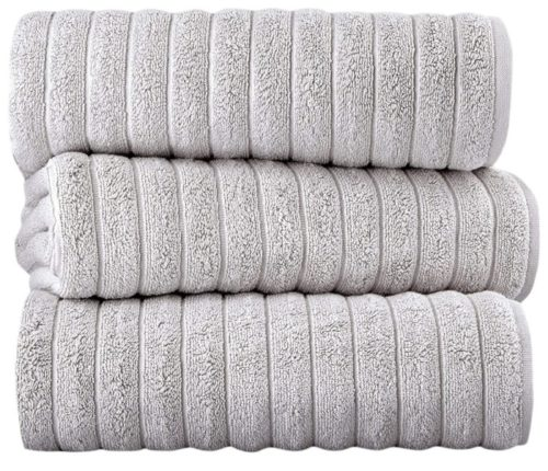 12. Classic Soft and Thick Luxury Turkish Bath Towels Set with 100% Turkish Cotton