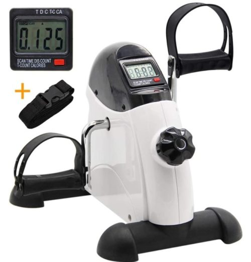 13. Hausse Portable Exercise Peddler with LCD Display As Professional Leg Machines