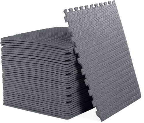 14. CAP Barbell EVA Foam Interlocking Tiles Training Puzzles Mat
