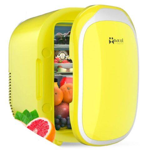 14. NaCot Portable Mini Fridge - Compact Mini Cooler and Warmer