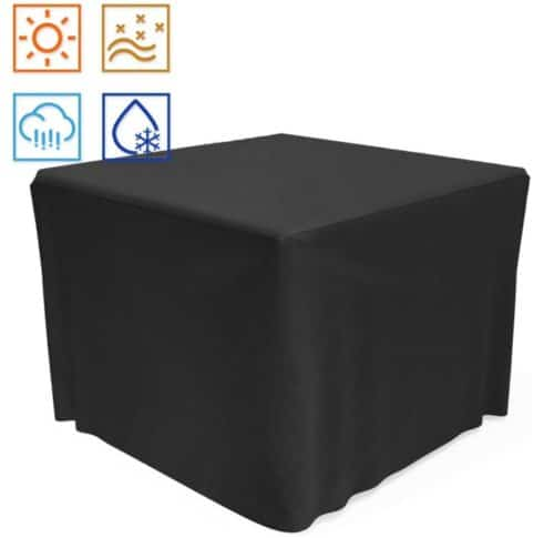 14. SHINESTAR Heavy Duty Fabric Square Fire Pit Cover and Waterproof