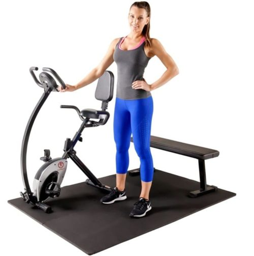 15. Marcy Non-Slip Equipment Gym Floor Mat
